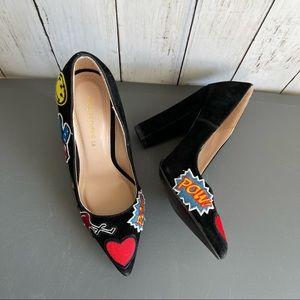 Shoe Republic LA Suede Patches Shoes Pump Size 7